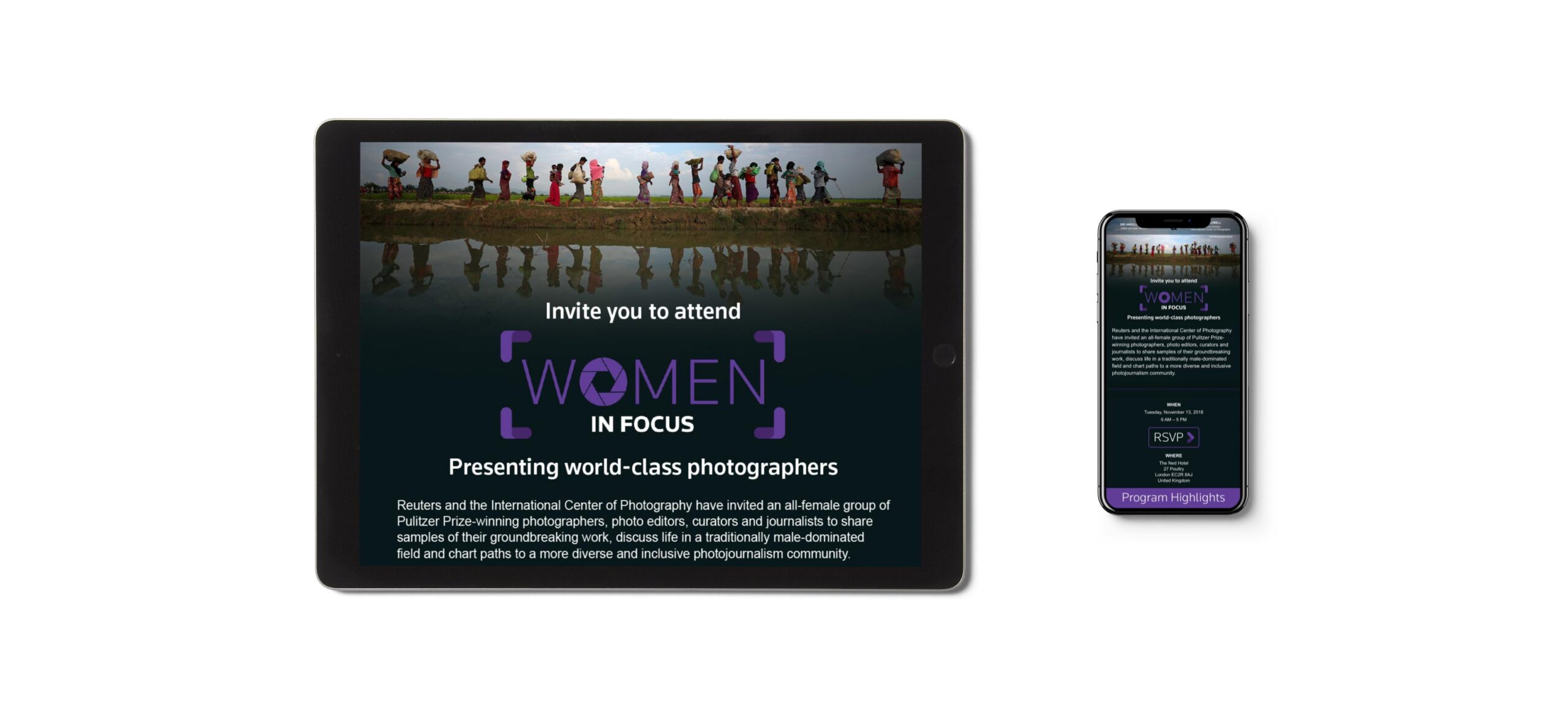 Women in Focus Email