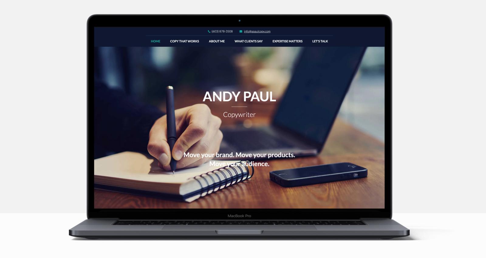 Andy Paul Website