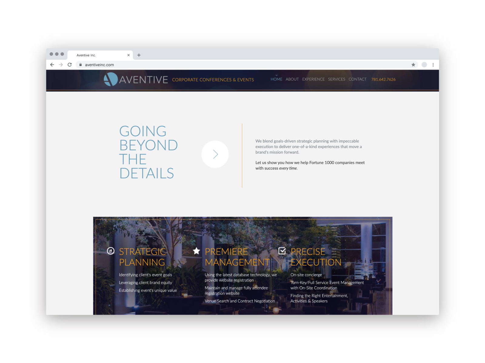 Aventive Website