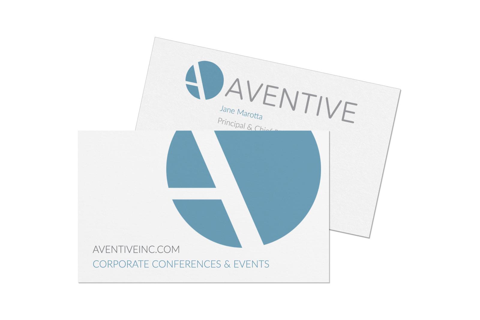 Aventive Business Card