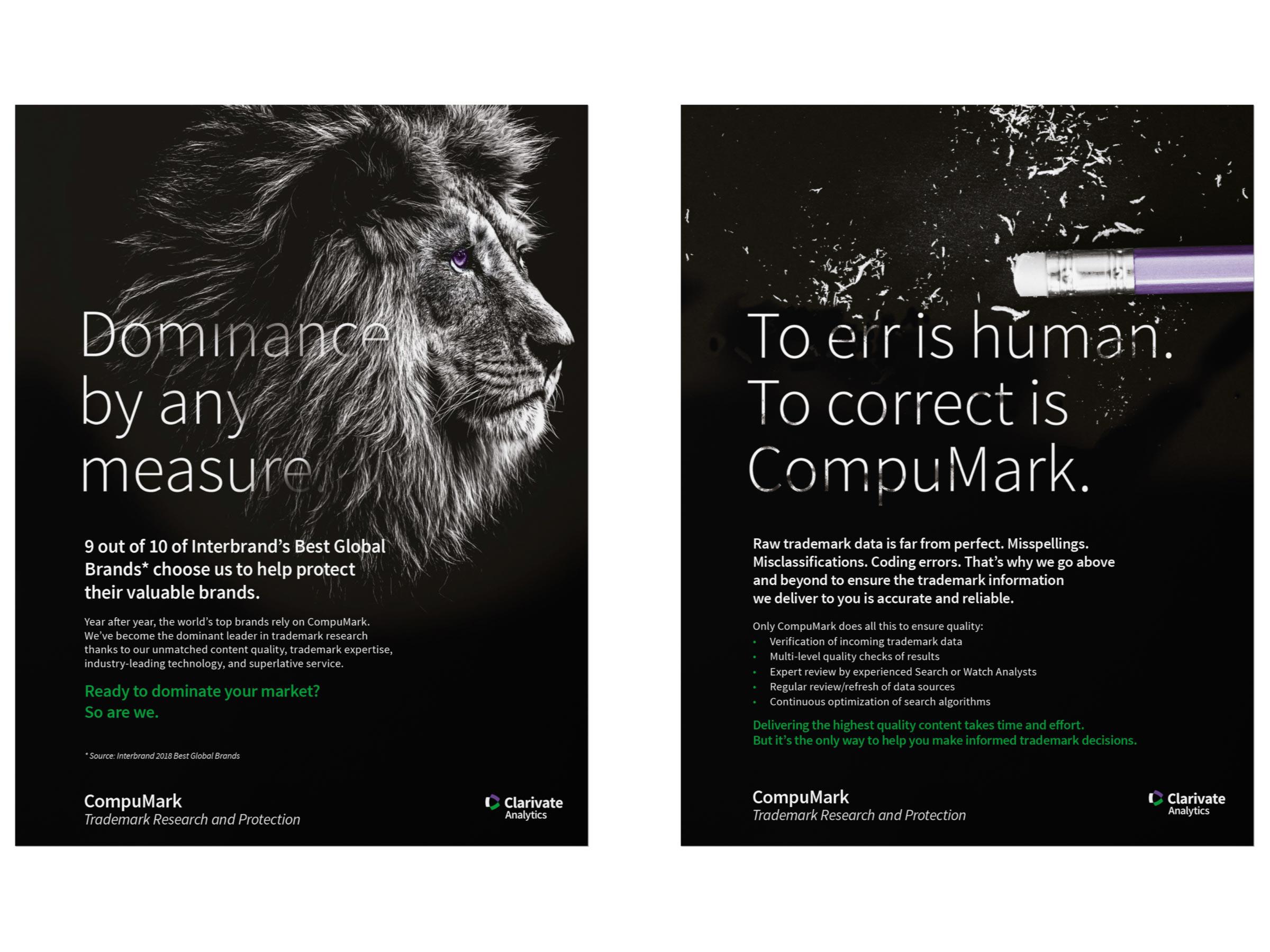 Clarivate Ad Campaign ad 3