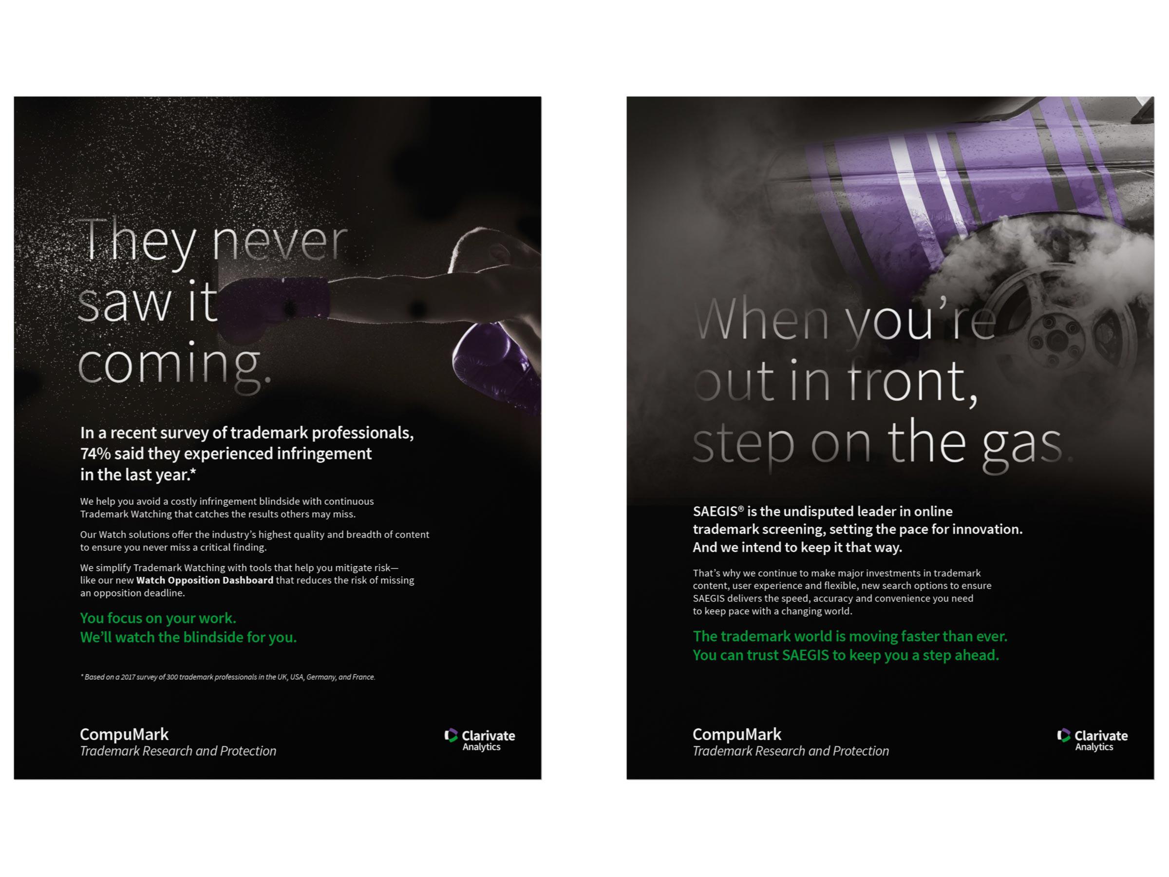 Clarivate Ad Campaign
