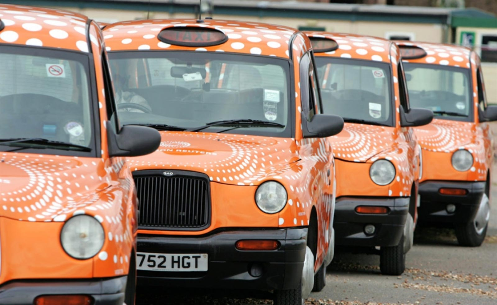 London Cab Wrap