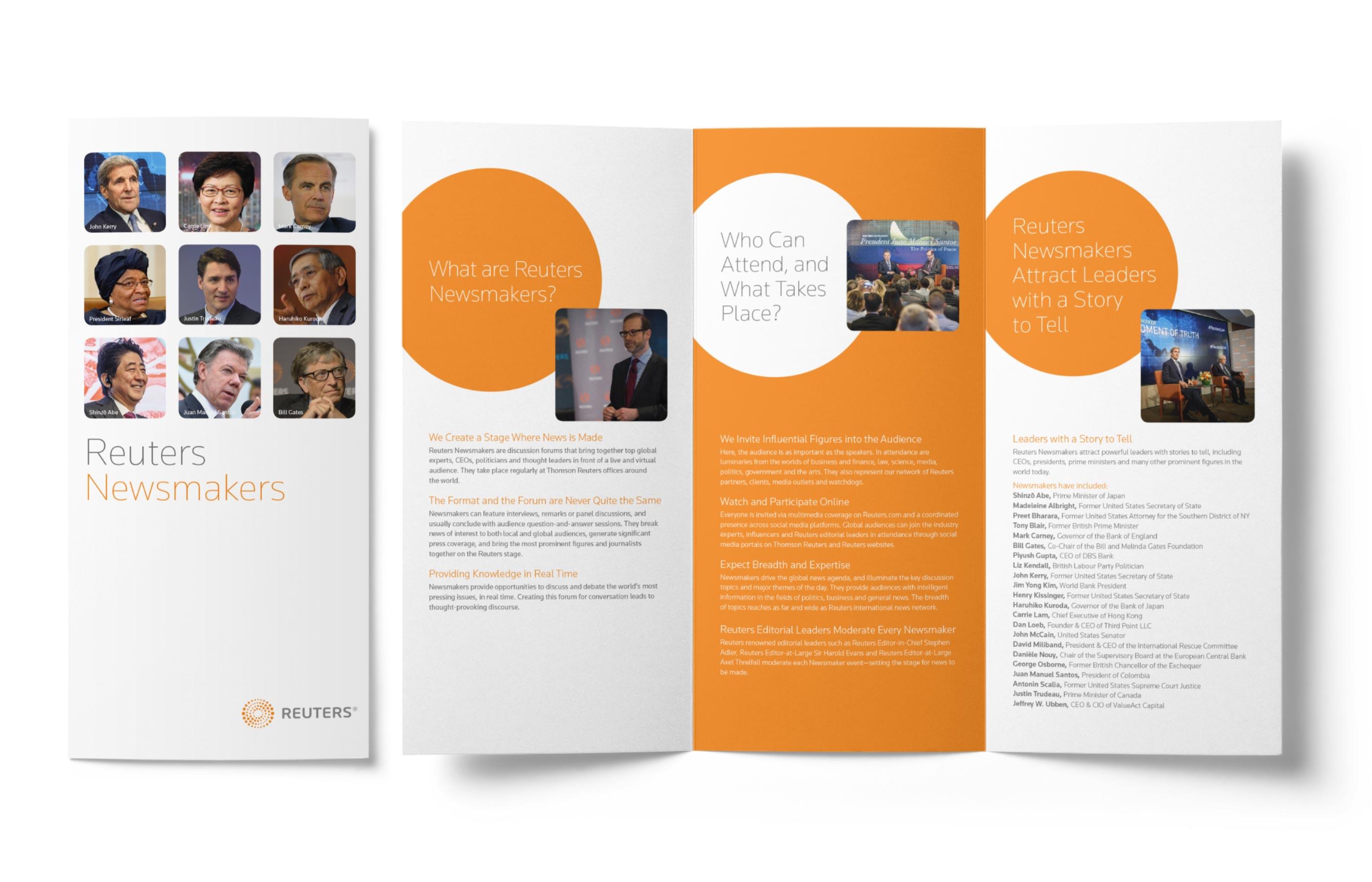 Newsmaker Brochure