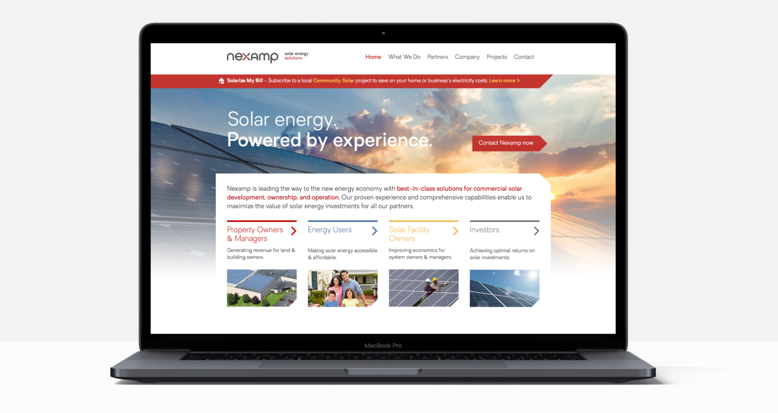 Nexamp Website
