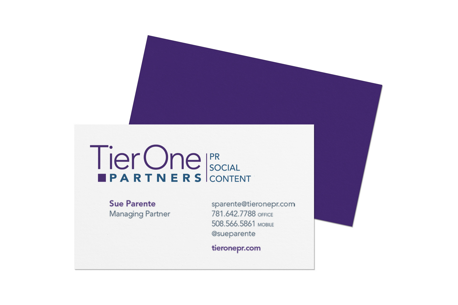 TierOne Business Card