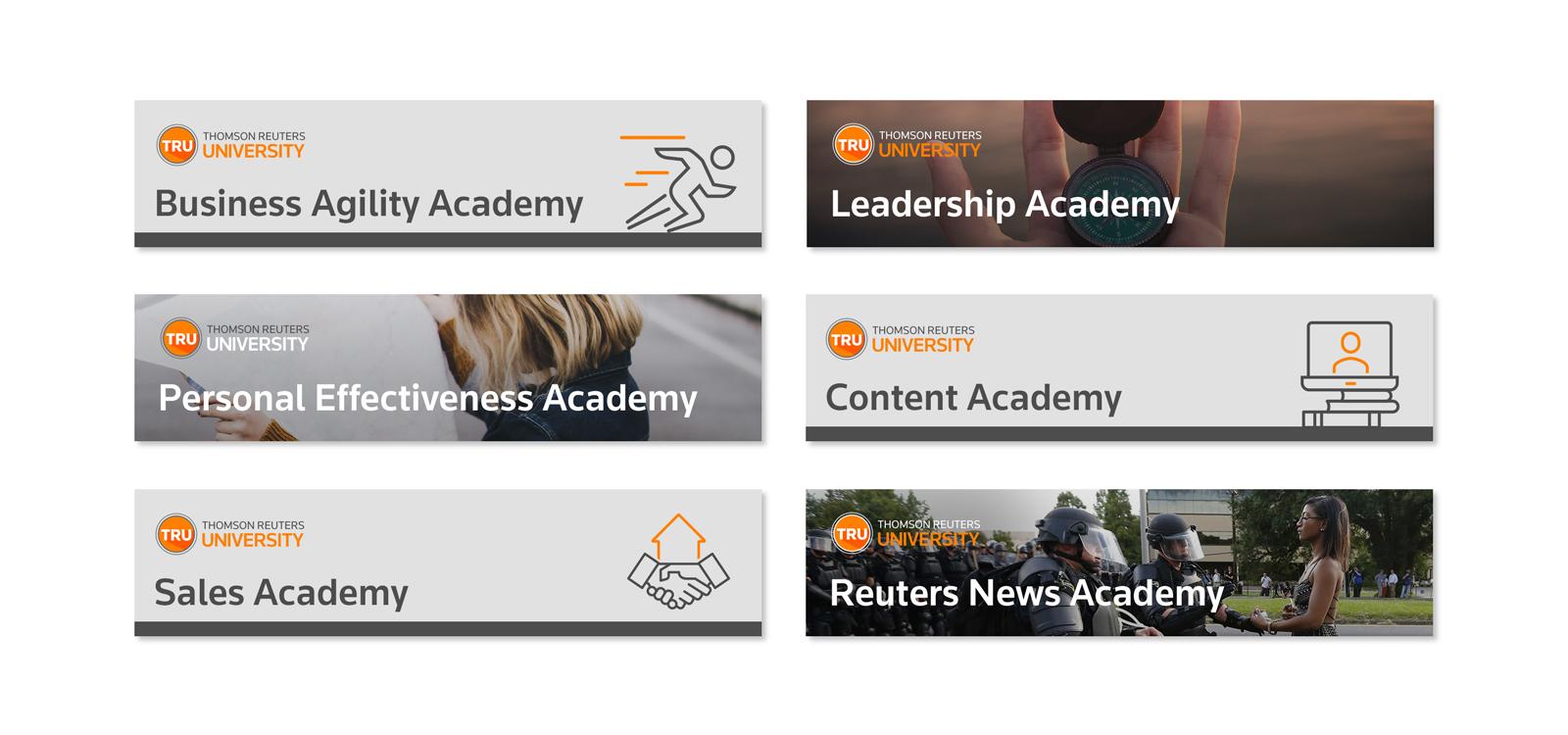 Thomson Reuters University Blog Banners