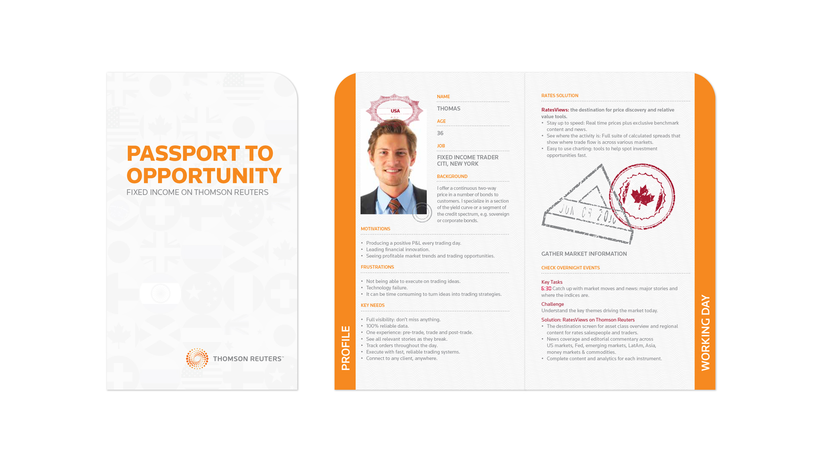 Fixed income sales kit